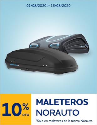 10% DTO Maleteros Norauto