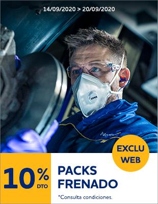 10% Pack Frenado