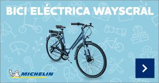 Bicicleta eléctrica WAYSCRAL híbrida