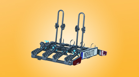 portes-vélos d'attelage plateforme