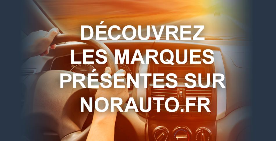 Découvrez les marques présentes sur Norauto.fr