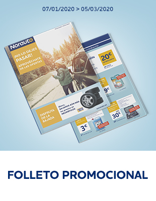Folleto promocional