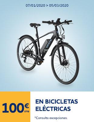 100€ Bicis eléctricas