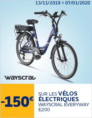 -150€ sur les vélos électriques WAYSCRAL EVERYWAY E200