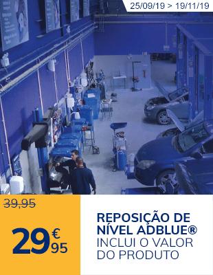 Reposição de nível AdBlue®