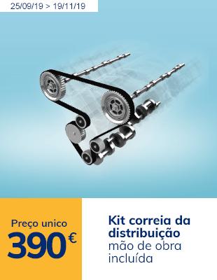Kit Correia Distribuição GATES + Bomba Água + Montagem (Preço Único)