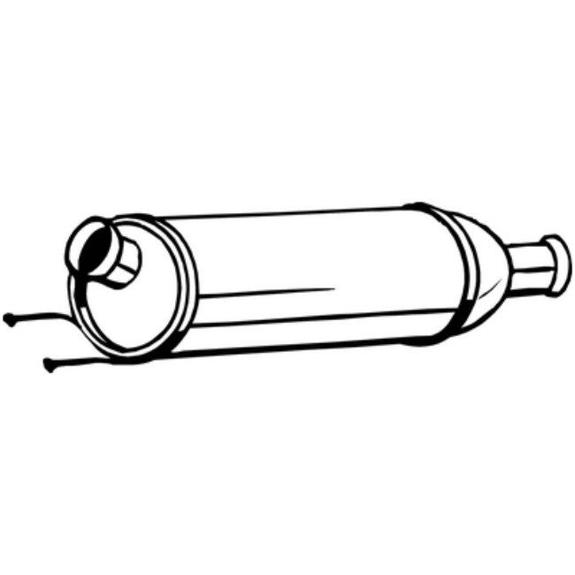 Filtre À Particules Bosal 097-258