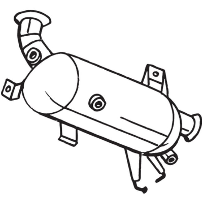 Filtre À Particules Bosal 097-574