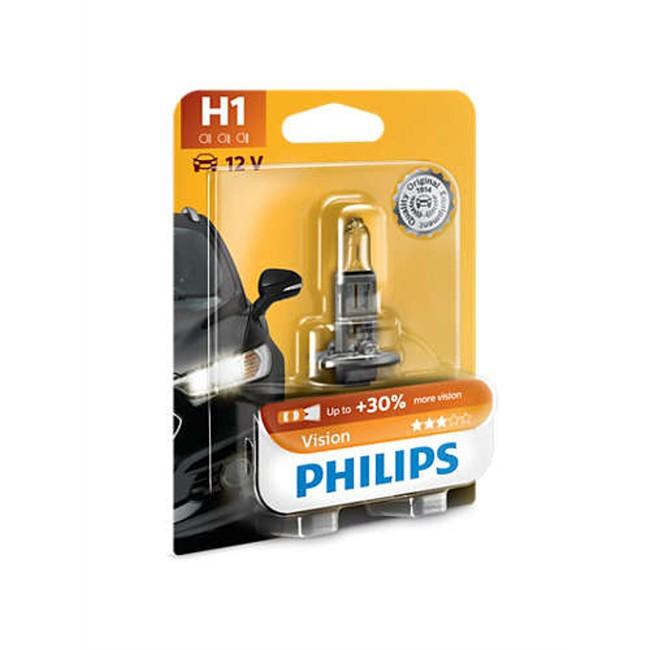 1 Ampoule Philips H1 Vision 55 W 12 V