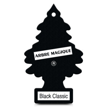 d sodorisant voiture arbre magique black classic. Black Bedroom Furniture Sets. Home Design Ideas