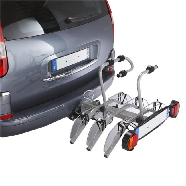 Porte-vélos D'attelage Plate-forme Mottez Standard A007p3ra Pour 3 Vélos