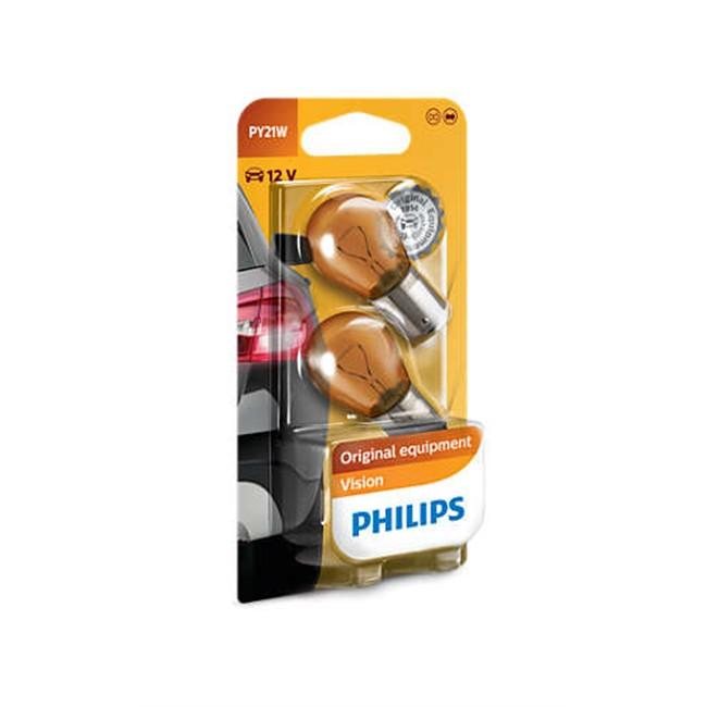 2 Ampoules Philips Py21w 21 W 12 V