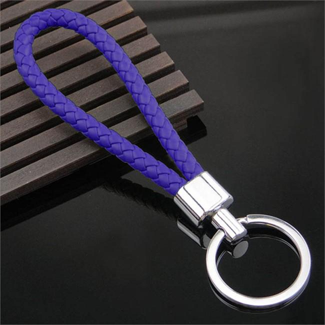 Porte-clés Tresse Bleu Marine