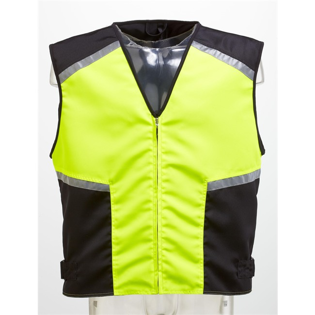 gilet de s curit moto et scooter l xl jaune. Black Bedroom Furniture Sets. Home Design Ideas
