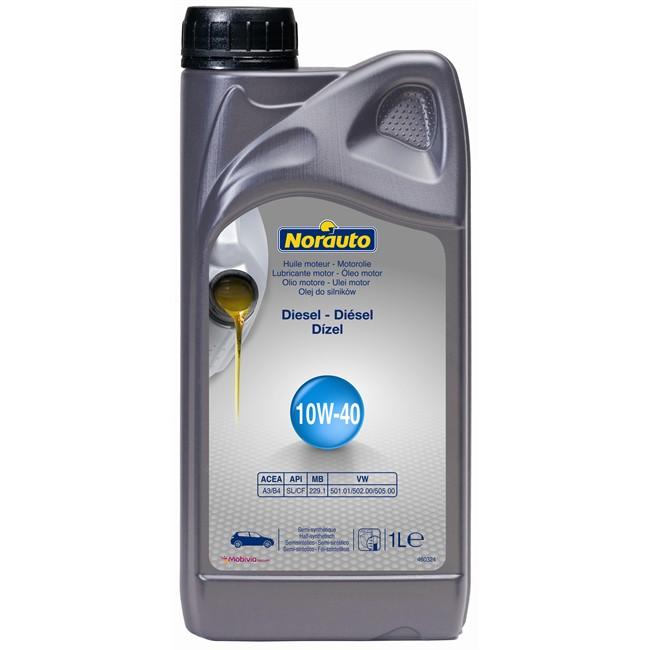 Huile moteur norauto 10w40 <strong>diesel</strong> 1 l