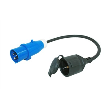 Cable adaptateur 40 cm CEE 230V HABA