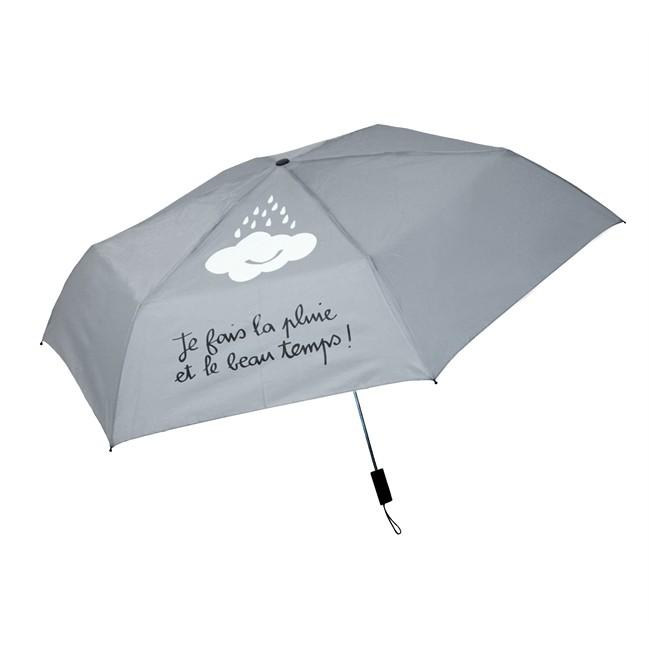 Parapluie Pliable Gris Zigoh