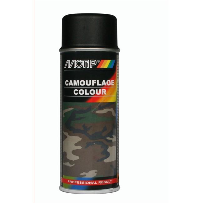 bombe de peinture noir camouflage motip m04206 400 ml. Black Bedroom Furniture Sets. Home Design Ideas
