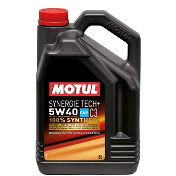 huile moteur motul synergie tech 5w40 essence et diesel. Black Bedroom Furniture Sets. Home Design Ideas