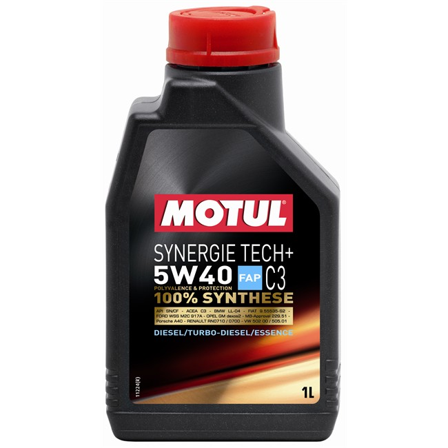 huile moteur motul synergie tech 5w40 essence et diesel 1. Black Bedroom Furniture Sets. Home Design Ideas