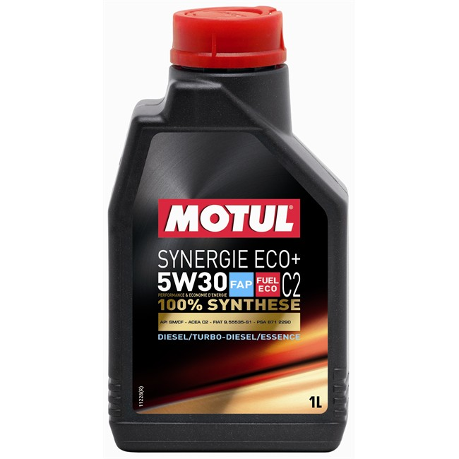 huile moteur motul synergie eco 5w30 essence et diesel 1 l. Black Bedroom Furniture Sets. Home Design Ideas