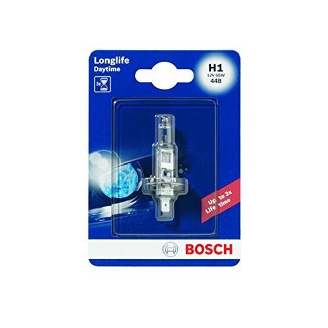1 Ampoule Bosch H1 Longlife Daytime 12 V