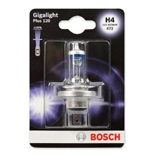 1 Ampoule BoschH4 Giga Light 12 V
