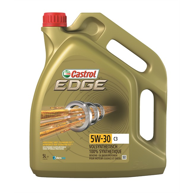huile moteur castrol edge titanium 5w30 c3 essence et diesel 5 l. Black Bedroom Furniture Sets. Home Design Ideas