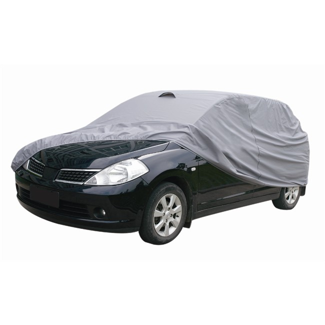 Housse couvre voiture pvc coton norauto taille 20 for Taille garage 1 voiture