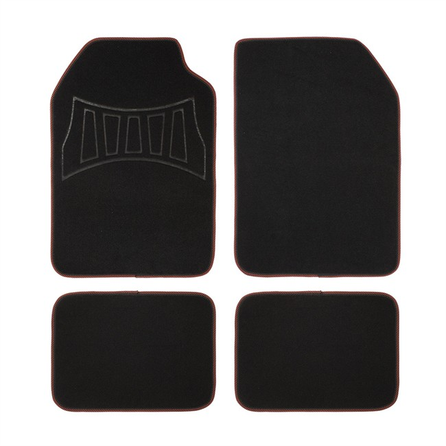 4 tapis de voiture universels moquette 1er prix confiance. Black Bedroom Furniture Sets. Home Design Ideas