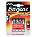 4 piles AAA/LR03 ENERGIZER Alkaline Max +Power Seal