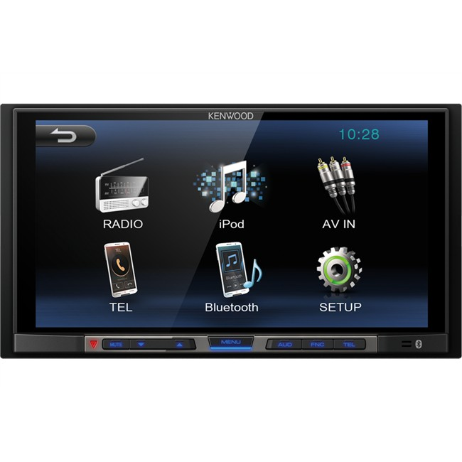 autoradio kenwood dmx100bt. Black Bedroom Furniture Sets. Home Design Ideas