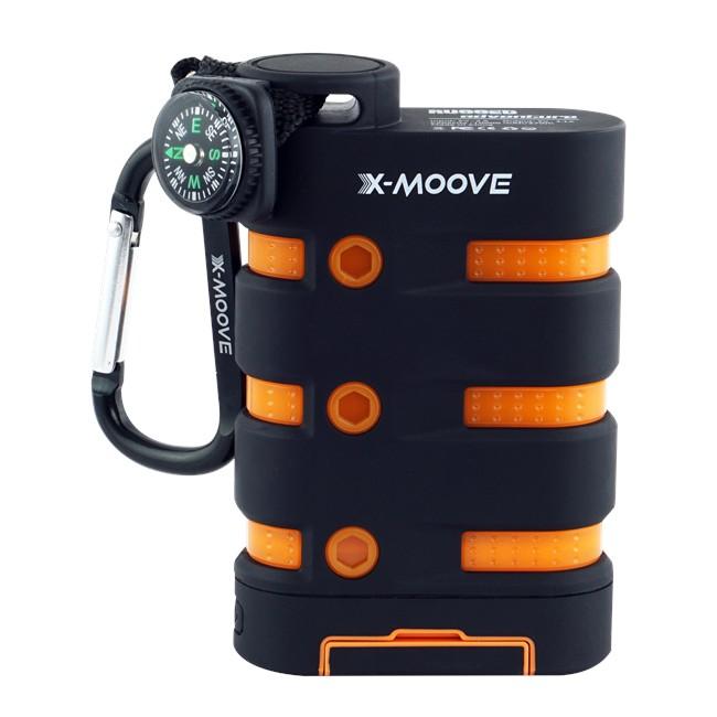 Batterie externe X-MOOVE Rugged Adventure 10 000 mAh ...