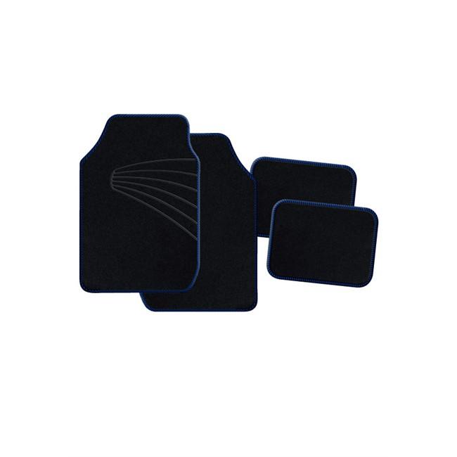 4 tapis de voiture universels moquette 1er prix twister for Moquette interieur voiture