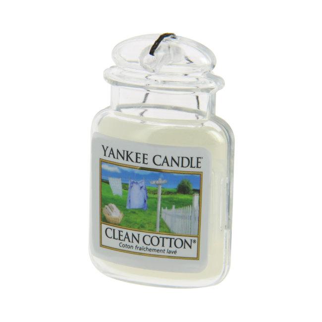 Désodorisant Voiture Yankee Candle Coton Frais