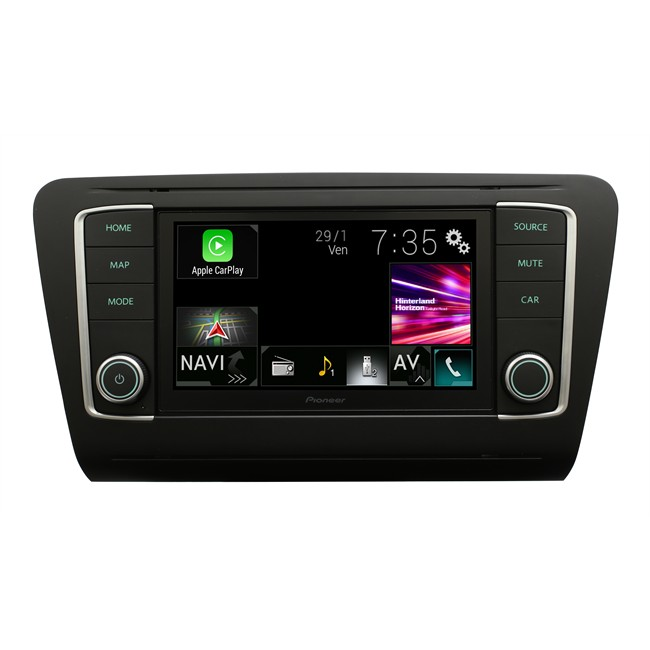 autoradio pioneer navgate evo avic evo1 oc1 mtb noir mat pour skoda. Black Bedroom Furniture Sets. Home Design Ideas