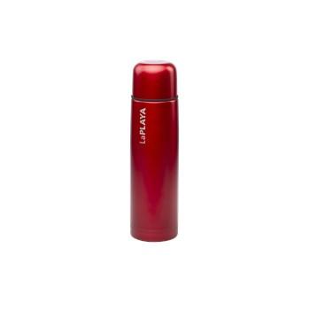 bouteille isotherme rouge en acier inoxydable laplaya 1l. Black Bedroom Furniture Sets. Home Design Ideas