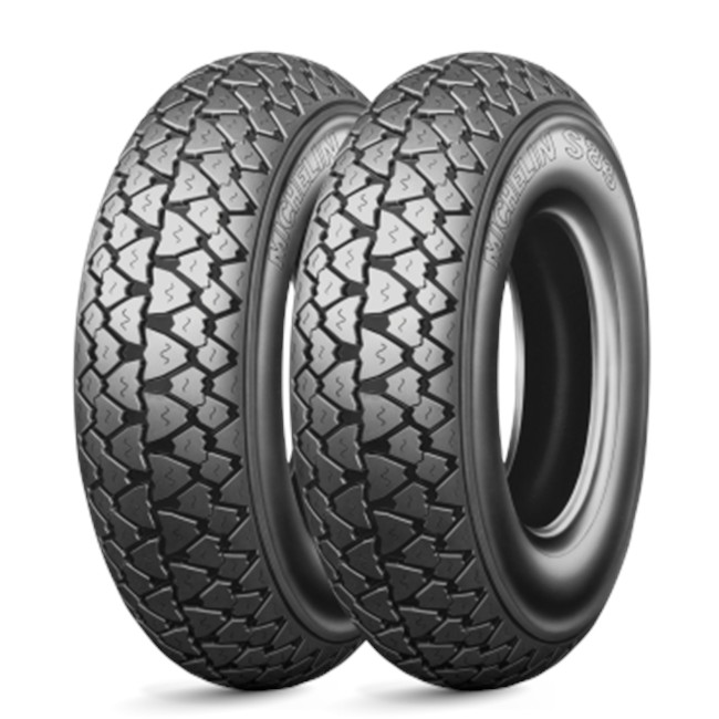 Pneu Scooter Michelin S83 3.50/--10 59j