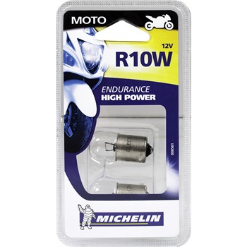2 ampoules 2 roues MICHELIN 12V R10W