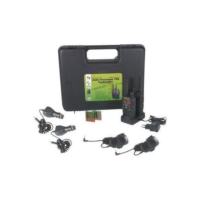 Coffret Talkie-walkie Stabo Freecomm 700