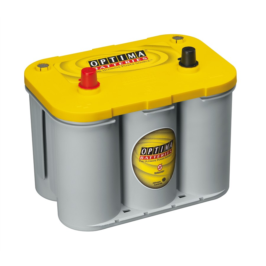 Batterie OPTIMA 55Ah-765A Yellowtop SPIRALCELL réf. YT S-4.2