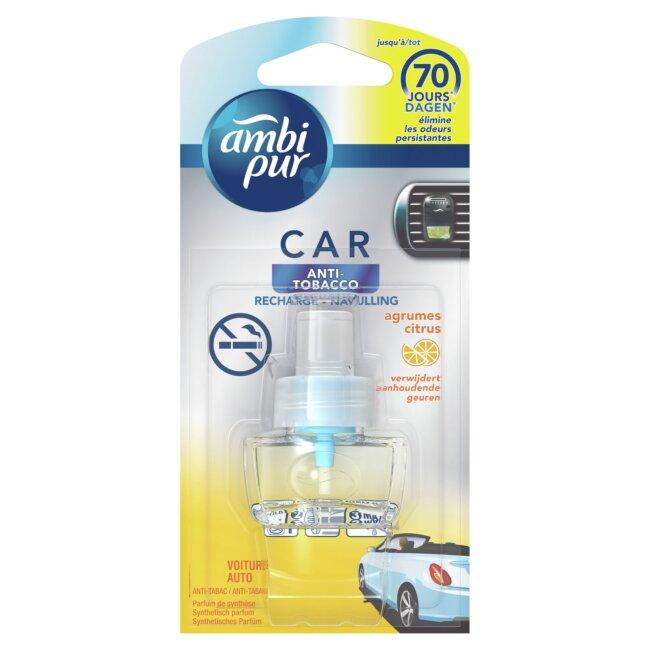 Recharge Désodorisant Voiture Ambipur Car Anti-tabac