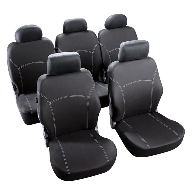 jeu complet de housses universelles voiture sp 233 cial monospace norauto phuket noires norauto fr