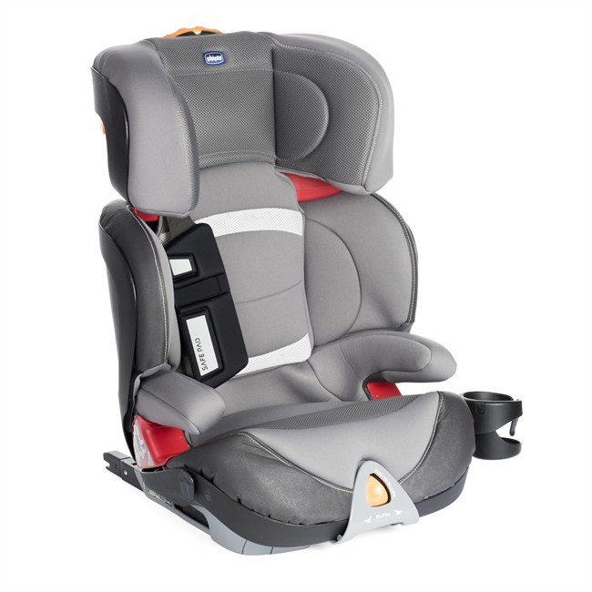 r hausseur haut isofix chicco oasys evo fixplus gris groupe 2 3. Black Bedroom Furniture Sets. Home Design Ideas