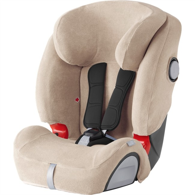 housse t beige pour si ge auto britax romer evolva sl. Black Bedroom Furniture Sets. Home Design Ideas