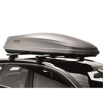 coffre de toit hapro traxer 6 6 gris 410 l. Black Bedroom Furniture Sets. Home Design Ideas