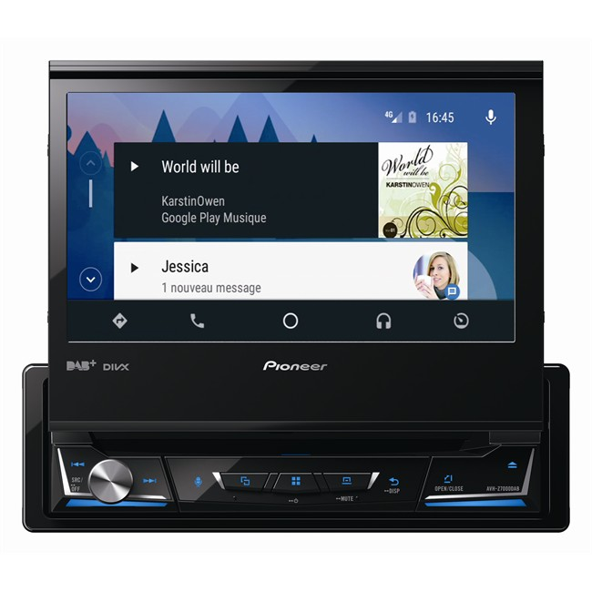 autoradio pioneer avh z7000dab. Black Bedroom Furniture Sets. Home Design Ideas