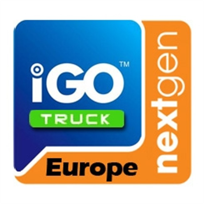 carte de navigation pour camion igo nextgen phonocar europe. Black Bedroom Furniture Sets. Home Design Ideas