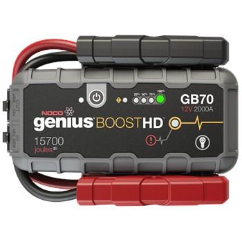 Booster noco genius gb70 2000 a 12v 24v - Booster batterie norauto ...
