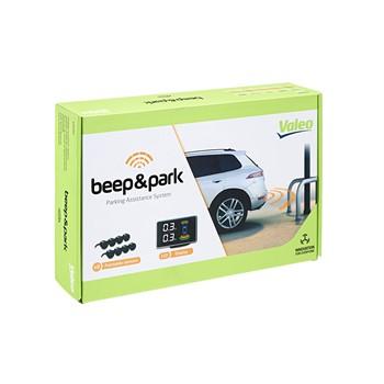 radar de recul 8 capteurs avec cran lcd valeo beep park. Black Bedroom Furniture Sets. Home Design Ideas